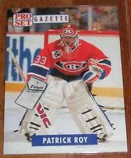 1991-92 Pro Set Gazette 2 Patrick Roy SP Insert
