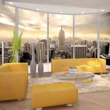 Vlies Fototapete New York Skyline Fenster Ausblick Tapete Wandbilder 10110904-40