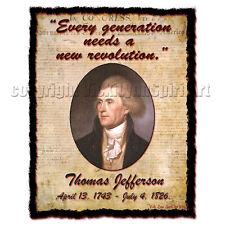 """Every generation needs a new revolution."" Thomas Jefferson Patriotic T-Shirt"