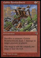 Goblin Bombardment MTG Tempest English Red UNCOMMON