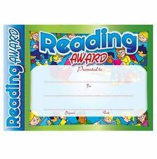New Teachers School #6151 & #6152 Reading Award Certificates