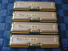Samsung 1GB RDRAM Kit (256MBx4)  RAMBUS 800-45 ECC