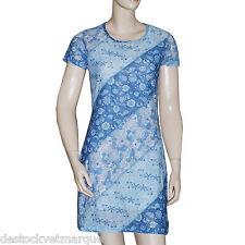 CHIPIE Robe bleu fleurs femme taille L