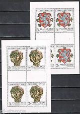 Tsjechoslowakije 1972 vellen 2071-2072 Praagse Burcht MNH Cat waarde € 20