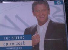 LUC STEENO - OP VERZOEK - ZIJN GROOTSTE HITS (2 CD) Ik mis je elke dag, Ga dan..
