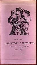 CHITARELLA MEDIATORE E TRESSETTE EDIZIONI MODERNE CANESI 1960