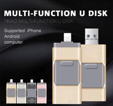 64GB Flash Drive USB 3.0 Memory Stick U Disk OTG Pen drive For Andriod iOS PC