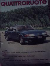 Quattroruote 320 1982 Didier Pironi Zolder death