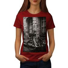Wellcoda Photo Old Funky Vintage Womens T-shirt, Retro Casual Design Printed Tee