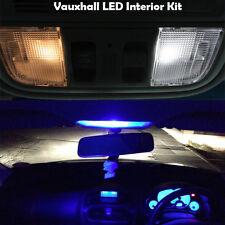 Vauxhall Corsa E LED Luz Interior Kit 3 Bombillas LED Blanco Azul Rojo vendedor del Reino Unido