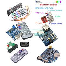 MP3 Decoder Board TF/USB Reader IR Remote Bluetooth/FM Car Audio Board Module