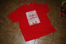 St. Louis Cardinals Batting Lineup Card T-Shirt Adult XXL