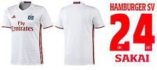 Trikot Adidas Hamburger SV 2016-2017 Home - Sakai [152-XXL] HSV Fussball