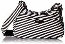Ju-Ju-Be Onyx Collection HoboBe Purse Diaper Bag, Black Widow
