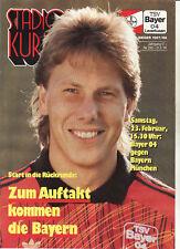 BL 90/91 Bayer 04 Leverkusen - FC Bayern München