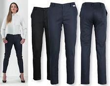 Pantaloni Donna Lavoro Hotel Business Work Woman Trousers Slim Fit P99D