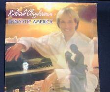 RICHARD CLAYDERMAN ROMANTIC AMERICA 1988 RECORD LP