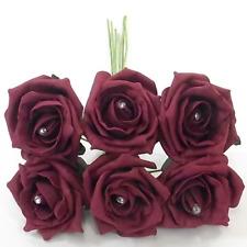 48 Diamante Schiuma Rose Cerimonia Fiori Tutti I Colori Per Bouquet o asole