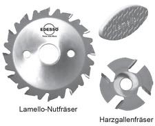 Lamello Nutfräser / Harzgallenfräser Verschiedene Größen Sägeblatt Lamello 325