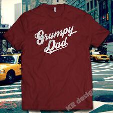 Grumpy Dad Old Man Men's Club Tshirt Dad Tee Funny Christmas Gift Xmas shirt