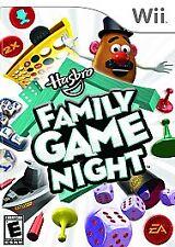 HASBRO FAMILY GAME NIGHT WII NEW SEALED! CONNECT FOUR, SORRY, BATTLESHIP YAHTZEE