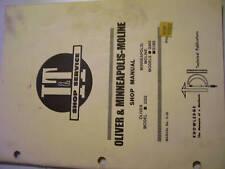 Vintage Moline Service Manual-G955-G1355-2255 Tractors