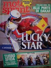 Motosprint 3 (336) 1984 Speciale Mese. Alle porte di Dakar. Sfida Honda Kawasaki