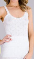 Ladies Thermal Spencer/Vest (warm winter) Black & White M L XL 2XL 3XL UK MADE