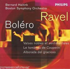 RAVEL - Bolero/Alborada/Le Tombeau/Valses Nobles (Boston SO) (EU 14 Tk CD Album)