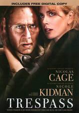 TRESPASS DVD + Digital Copy  Nicolas Cage, Nicole Kidman, Cam Gigandet