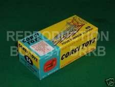 Corgi # 56 Four Furrow Plough - Reproduction Box by DRRB