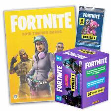 Fortnite Sammelkarten Serie 1 - Sammelalbum Mega-Tin Blasterbox Booster Cards