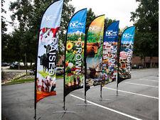 Feather Flag Banner, Custom Printing, Sail Flag, Outdoor Flag Banner