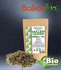 Mullein Leaves Dried Cut Organic Herbal Tea Verbascum Thapsus PREMIUM QUALITY