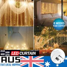 Waterproof Net Mesh LED String Fairy Lights Xmas Party Wedding Decor Lighting AU