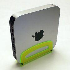 MINI MAC TIME CAPSULE KEY LIME GREEN APPLE ACRYLIC COMPUTER STAND 2010+