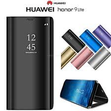 COVER per Huawei Honor 9 Lite FLIP ORIGINALE MIRROR Case SLIM Clear View