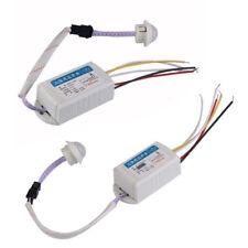 110/220V IR Motion Sensor LED Lamp Ceiling Wall Automatic Light Control ASS