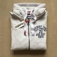 Mens Superdry Trackster Zip Hoodie sweatshirt  hoody