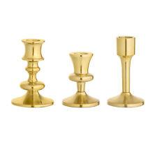 Kerzenhalter Kerzenständer Gold Retro Nordic Skandinavisch von Bloomingville