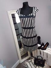 Bravissimo Monochrome Stripe Satin Dress (49)