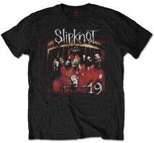 Slipknot 'Debut Album 19 Years' (Black) T-Shirt - NEW & OFFICIAL!