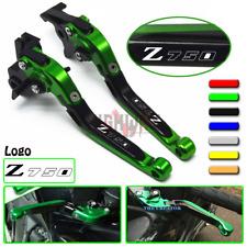 Adjustable Folding Brake Clutch Levers KAWASAKI Z750 2007-2012 2008 2009 2010