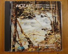 Mozart: String Quintet K 515 & 516 Fine Arts Quartet J. Dupouy RAR! Neu