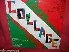 COLLAGE VVAA LP ITALY 1977 MINT- Fausto Papetti Cassano Nini Rosso Latora etc.