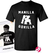 Muhammad Ali Manilla Gorilla rare ALI T-shirt WWF Retro WWE Men+Kids Tshirt NEW