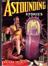 Sci-Fi Pulp ASTOUNDING STORIES January 1937 - John W. Campbell, Jack Williamson