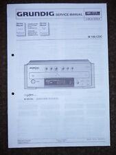 Service Manual Grundig M 100-CDC Fine Arts CD-Player.ORIGINAL