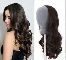 Remeehi Hot Sell New Fashion Body Wave Virgin Brazilian human hair 3/4 half wig