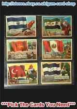 a&bc Banderas del mundo (95 x 67mm) Tarjetas 1 To 40 ( G/F ) Por Favor Select